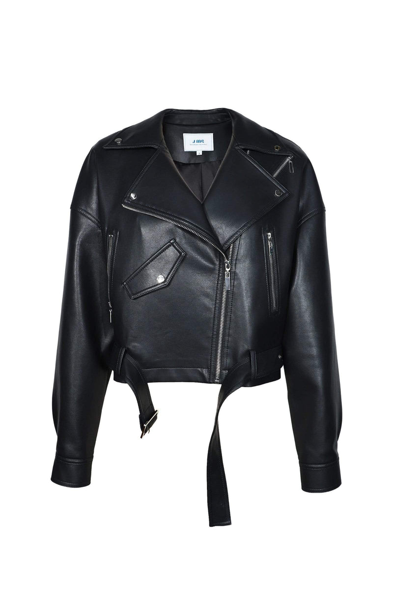 Alyx Black Leather Biker Jacket