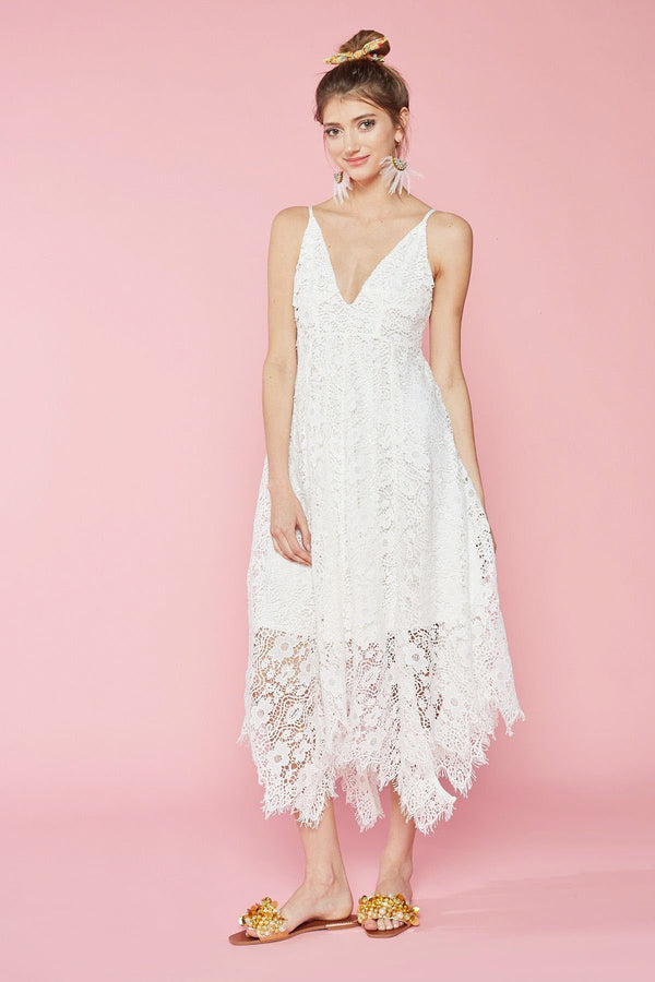 June Lace Dress in Dresses by J.ING - an L.A based women's fashion line