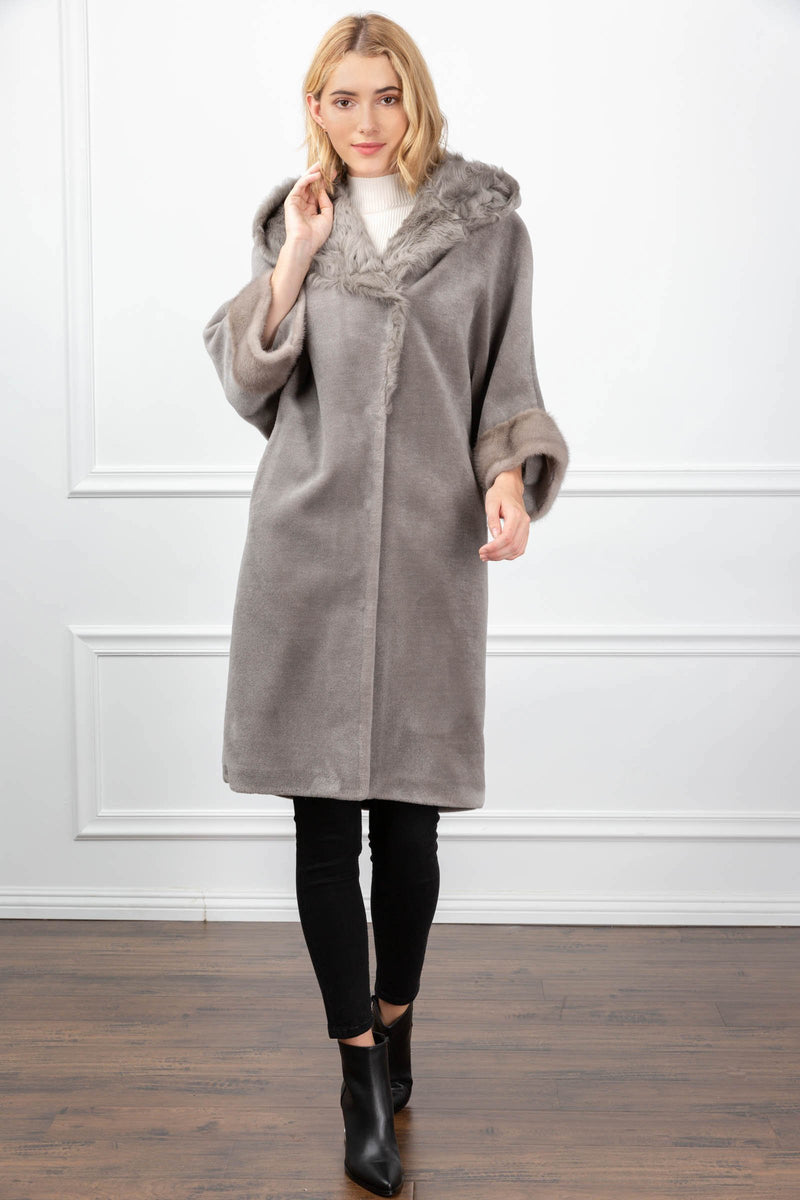 Katherine Coat Grey