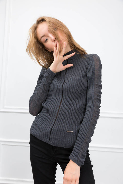 Kimmie Grey Sweater