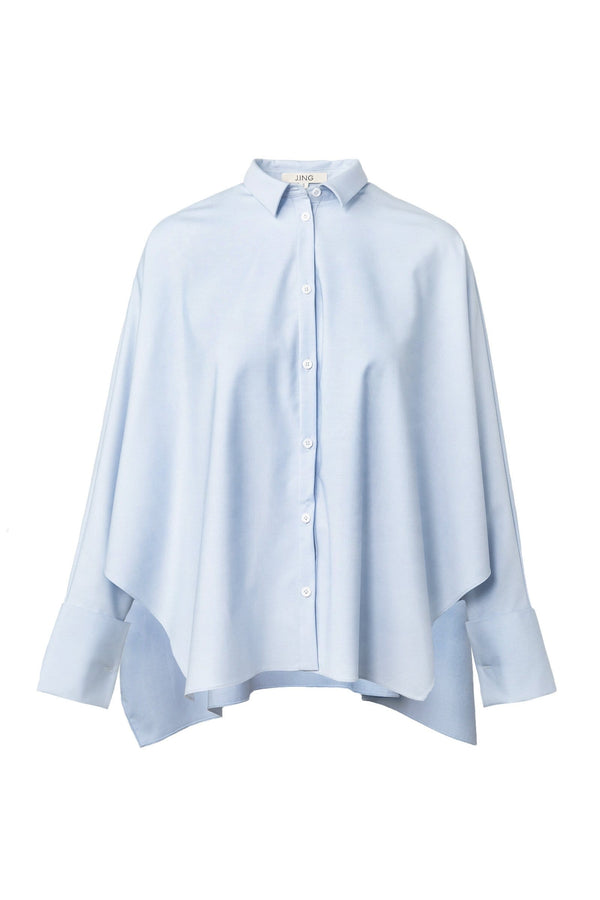Elliot Blue Oversize Shirt