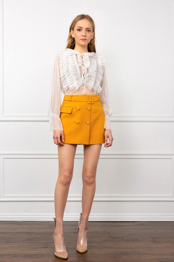 Yellow Yasmine Skirt