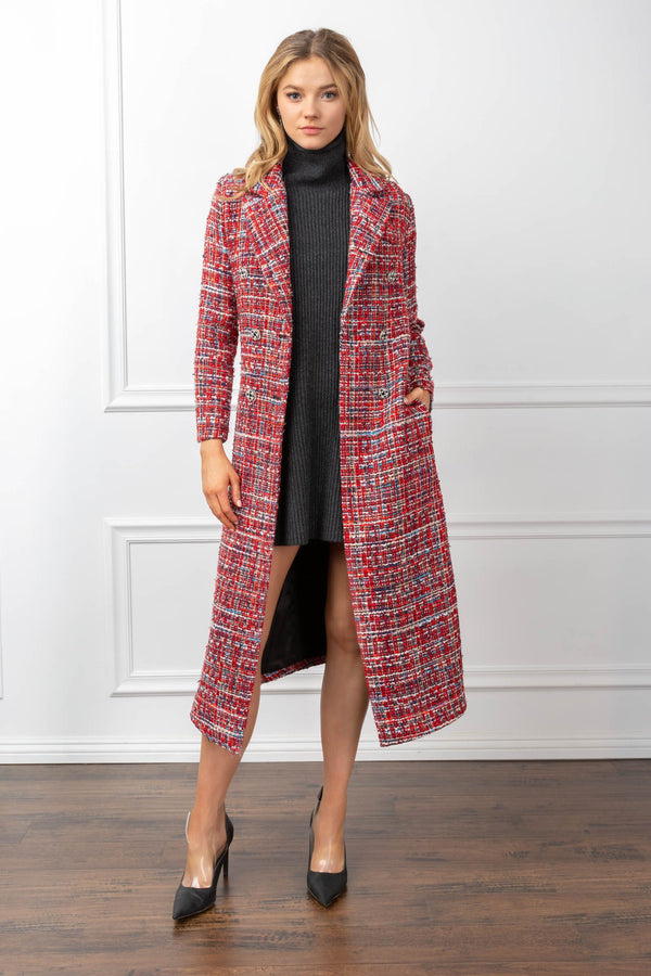 Lisette Coat in Coats & Jackets by J.ING - an L.A based women's fashion line