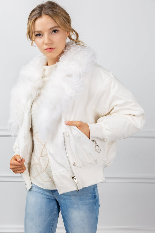 Luna Bomber Jacket in Coats & Jackets by J.ING - an L.A based women's fashion line