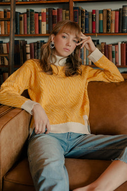 Sunny Turtleneck in Knitwear by J.ING - an L.A based women's fashion line