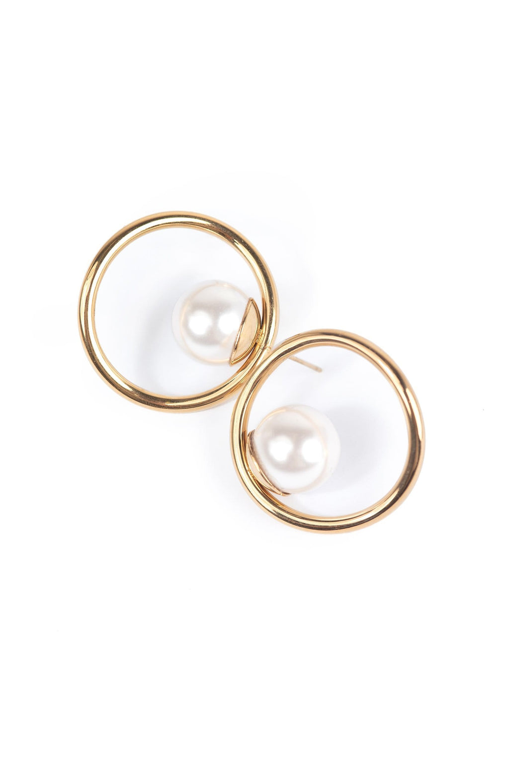 Curveball Earrings by J.ING women's accessories