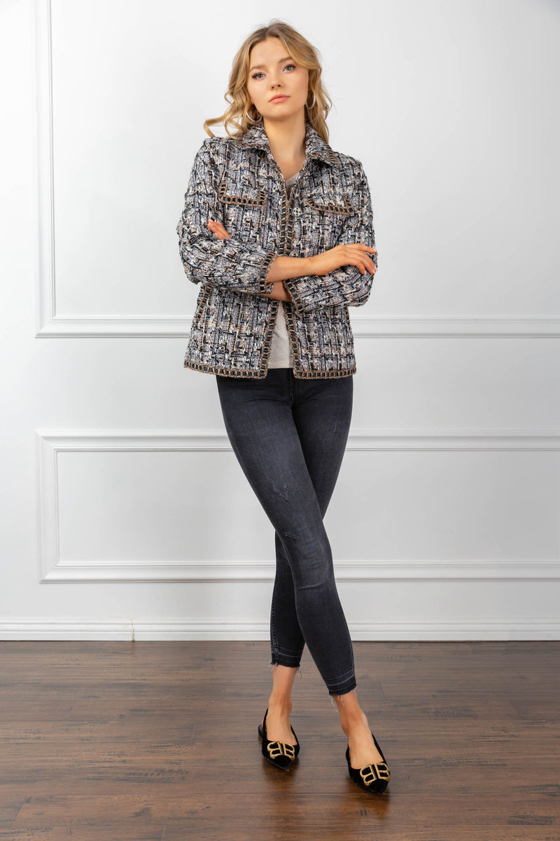 Magnolia Blazer in Coats & Jackets by J.ING - an L.A based women's fashion line