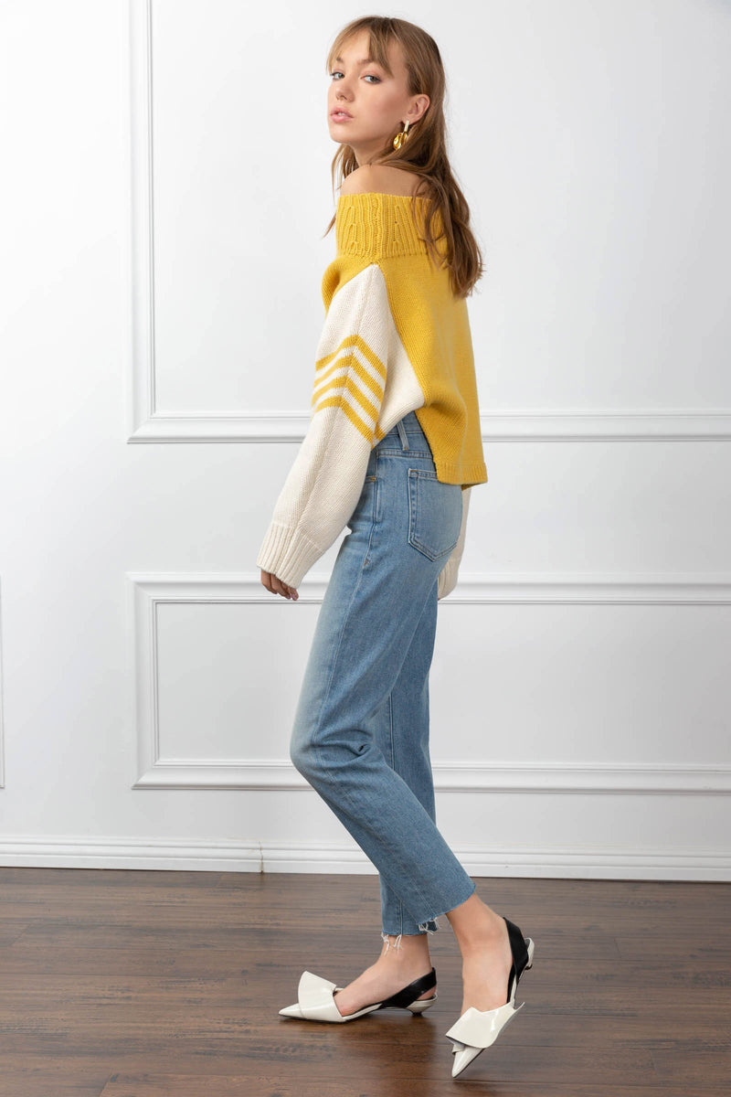 Marcella Sweater Yellow