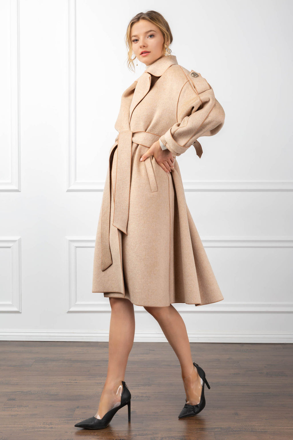 Margot Coat in Coats & Jackets by J.ING - an L.A based women's fashion line