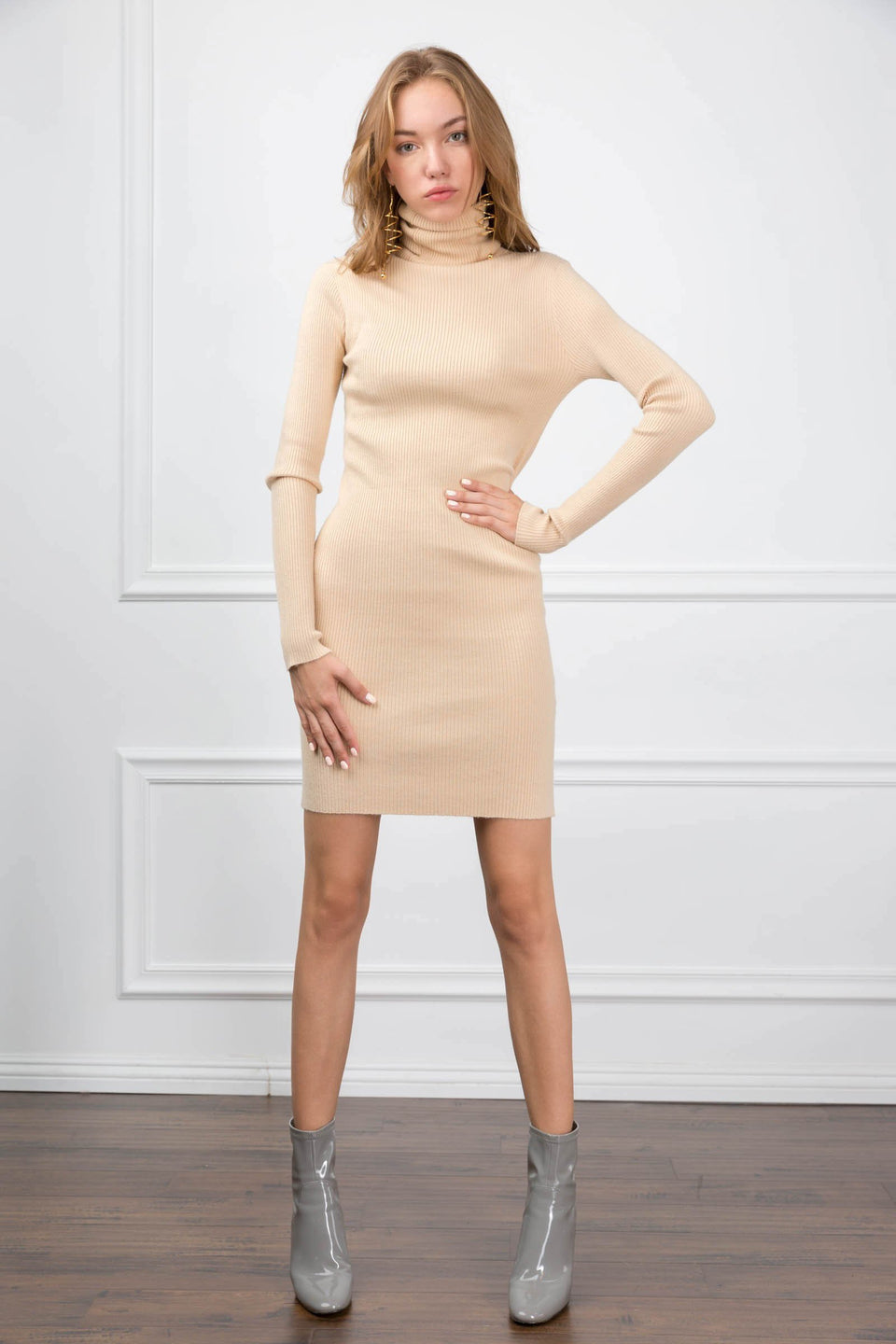 Mira Mini Knit Dress