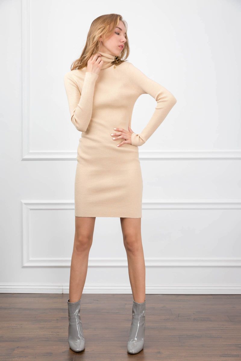 Mira Mini Knit Dress in Knitwear by J.ING - an L.A based women's fashion line