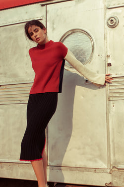 Pamela Sweater in Knitwear by J.ING - an L.A based women's fashion line