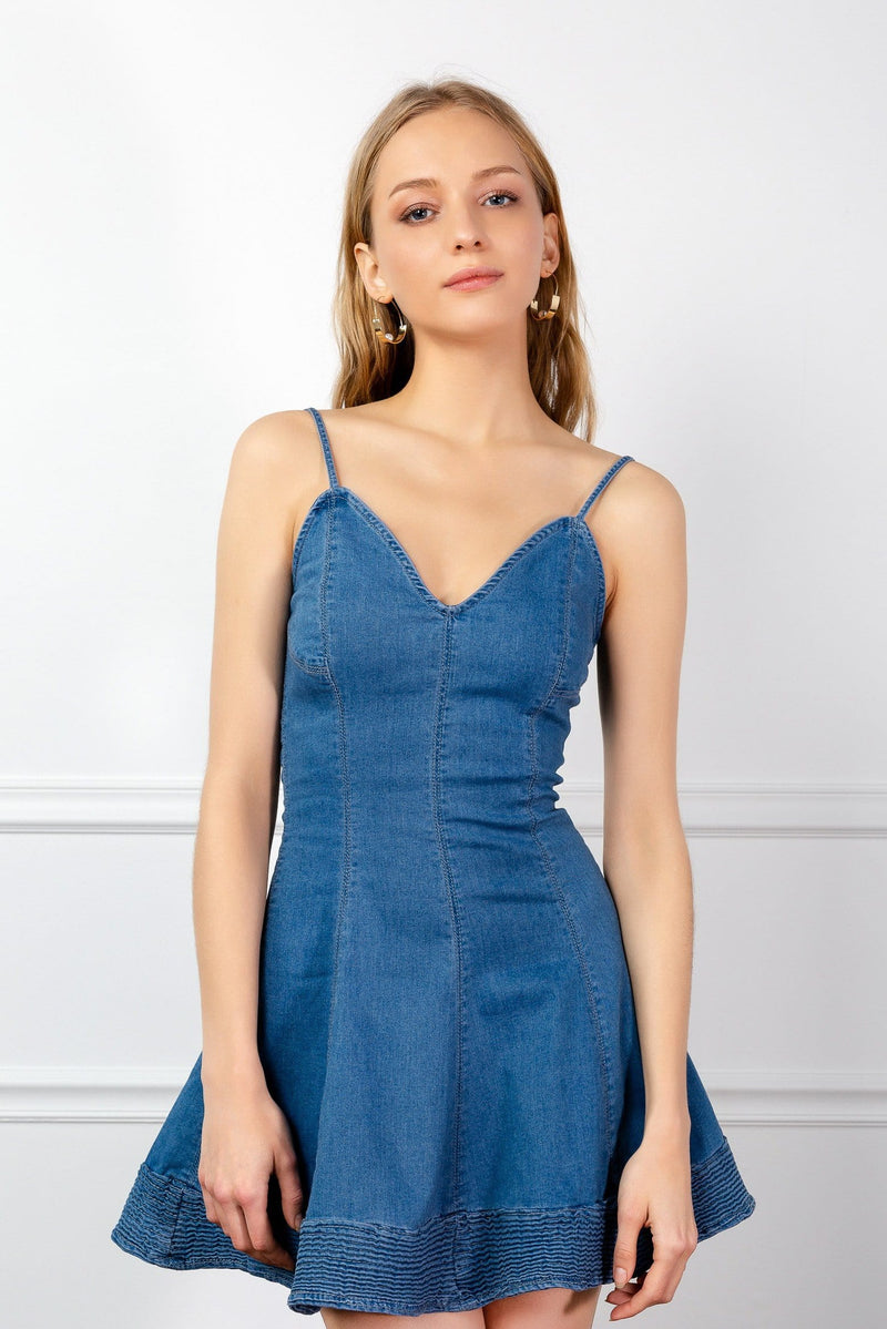 Parton Denim Dress