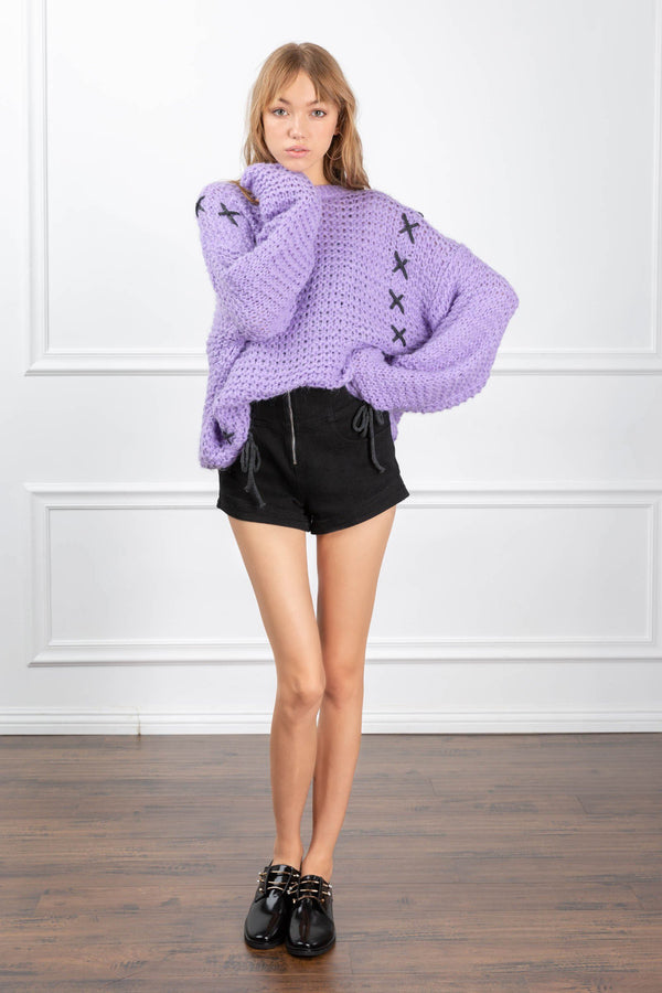 Penelope Sweater in Knitwear by J.ING - an L.A based women's fashion line