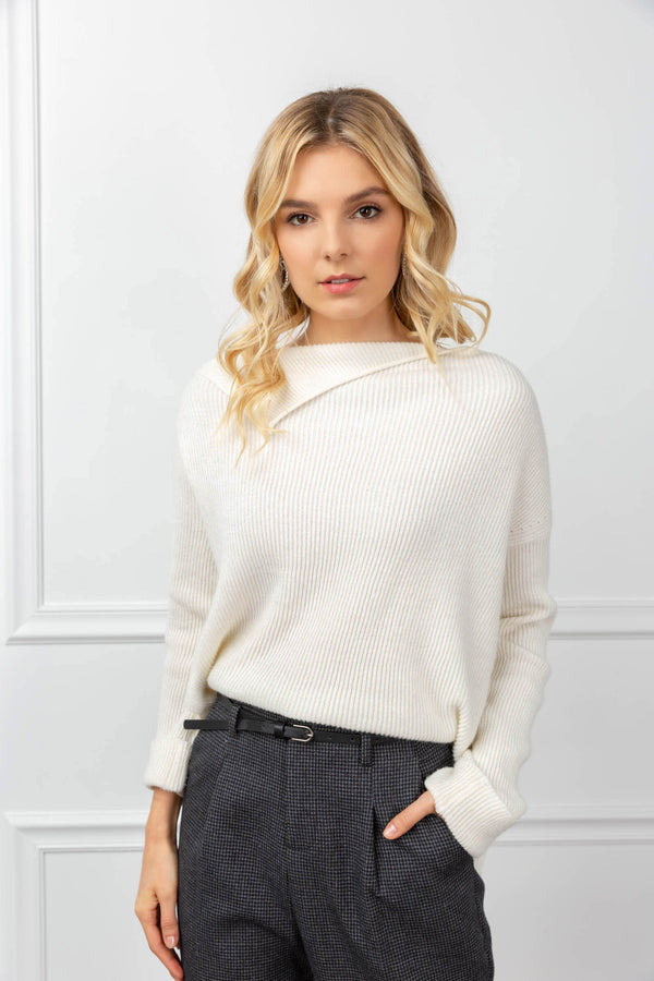 Philippa Sweater White