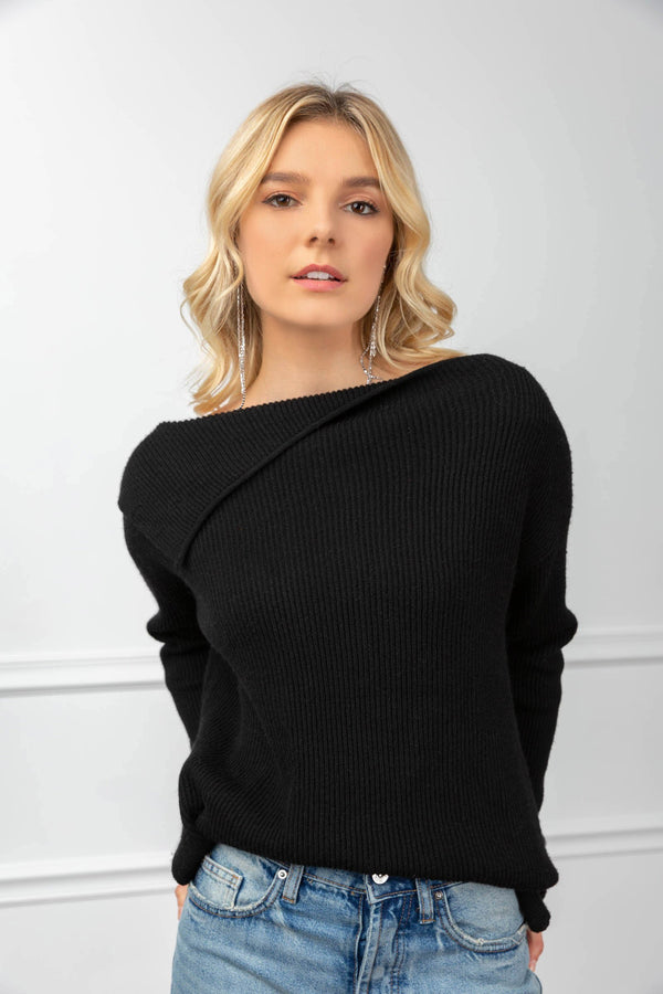 Philippa Sweater Black