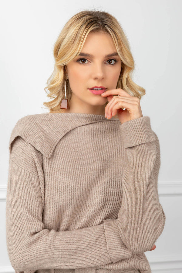 Philippa Sweater Tan