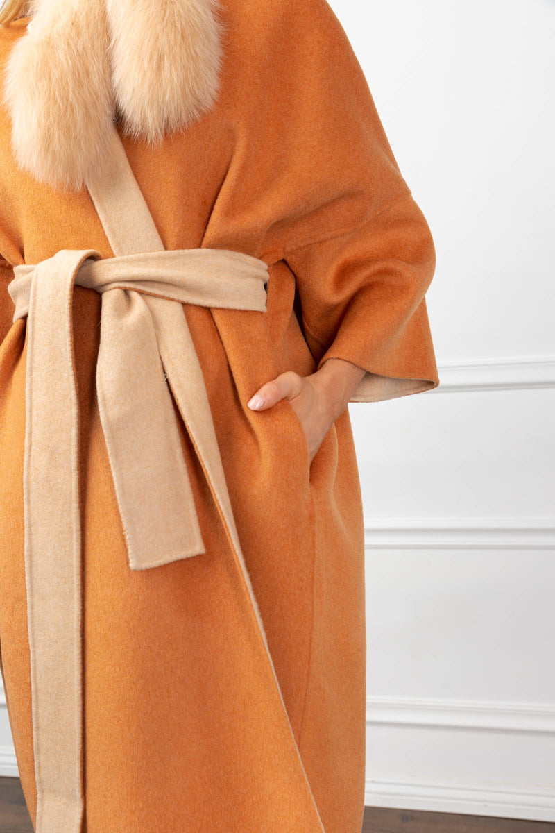 Quin Coat Orange