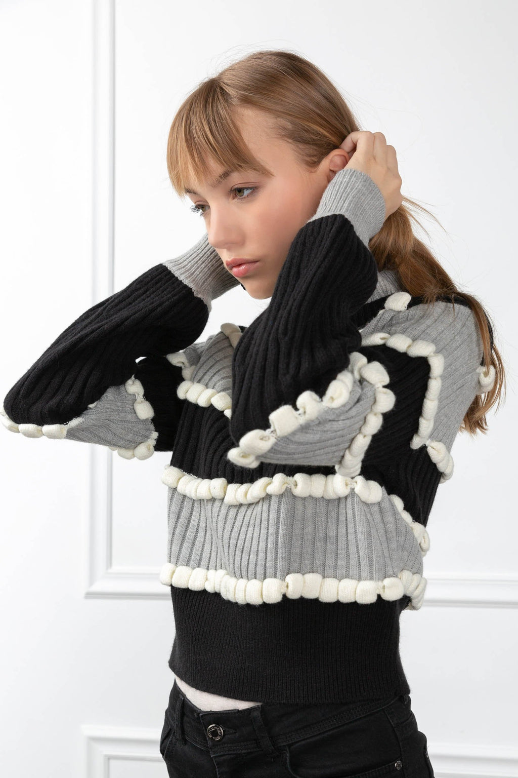 Reyla Sweater in Knitwear by J.ING - an L.A based women's fashion line