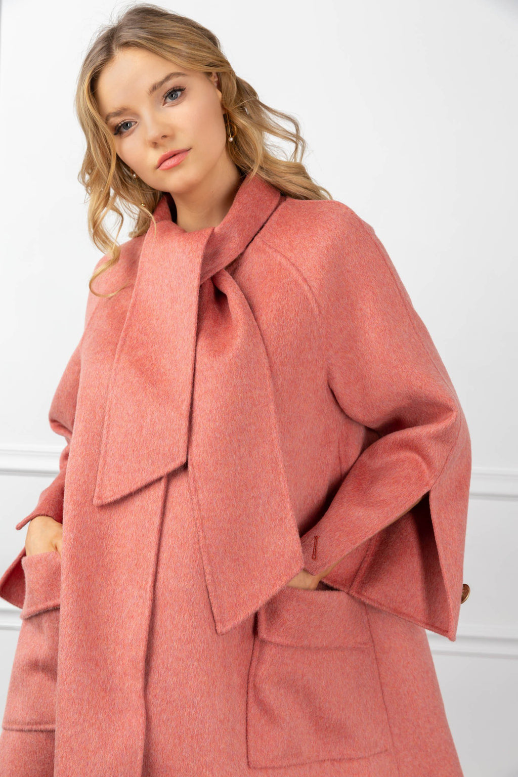Samantha Coat Pink