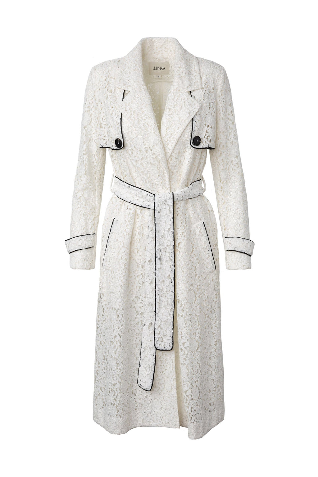 Scarlet Trench Coat by J.ING women's clothing