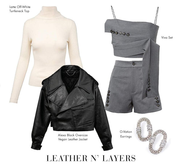 """Leather & Layers"" 