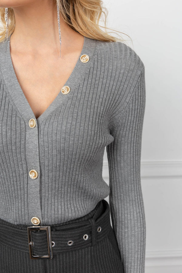 Skye Cardigan Grey