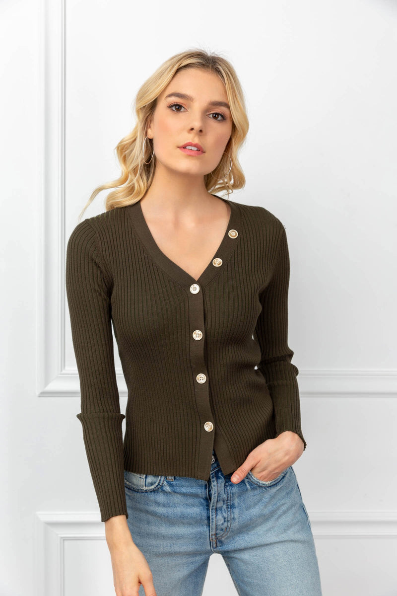 Skye Cardigan Green