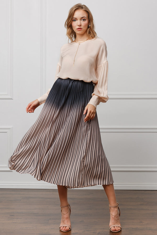 Sofia Pleated Skirt in Skirts by J.ING - an L.A based women's fashion line