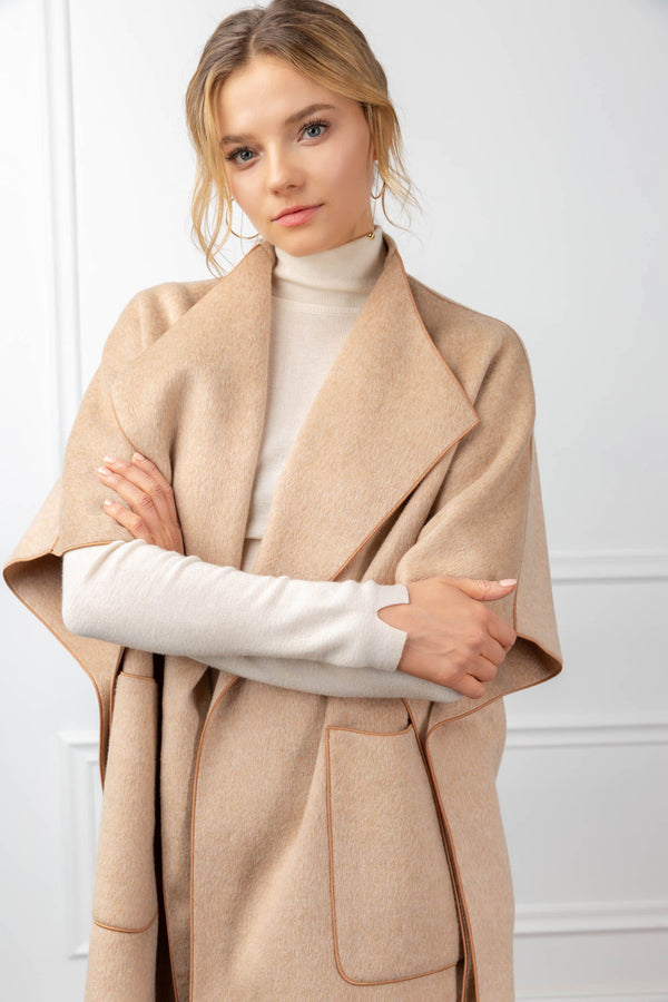 Tenley Cape in Coats & Jackets by J.ING - an L.A based women's fashion line
