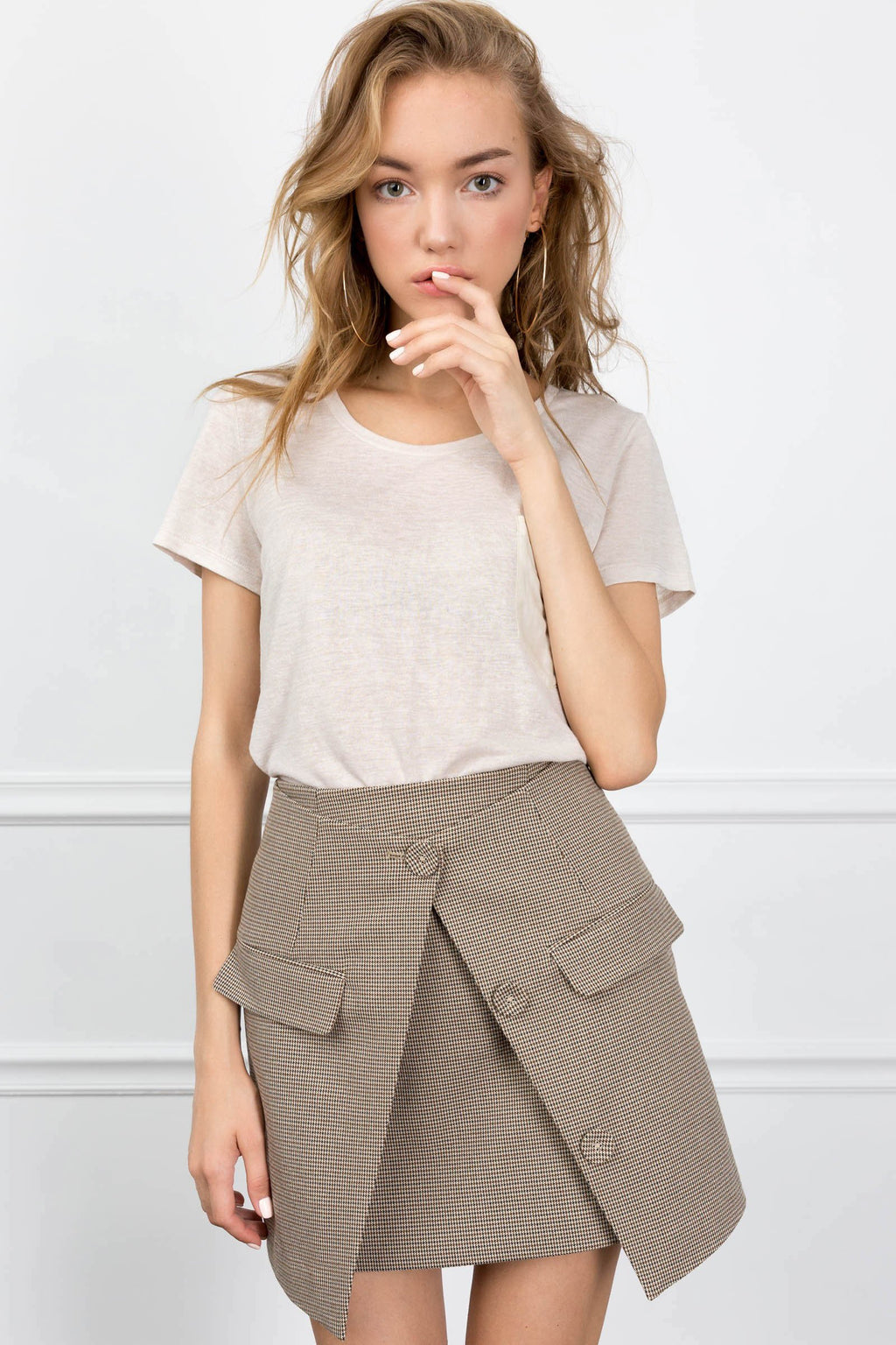 The Jasmine Skirt in Pants by J.ING - an L.A based women's fashion line