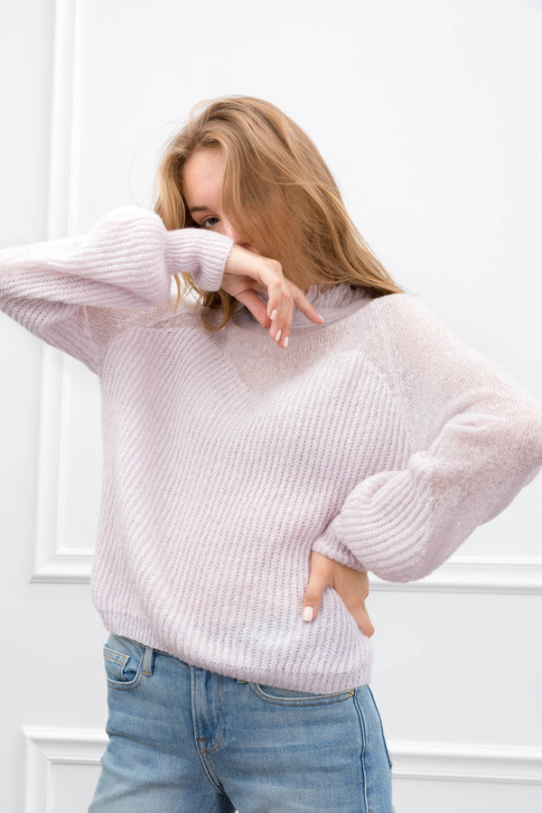 The Rachel Sweater in Knitwear by J.ING - an L.A based women's fashion line