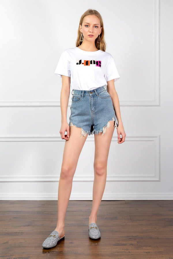 Townie Jean Shorts