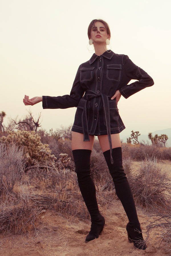 Viola Jacket in Coats & Jackets by J.ING - an L.A based women's fashion line