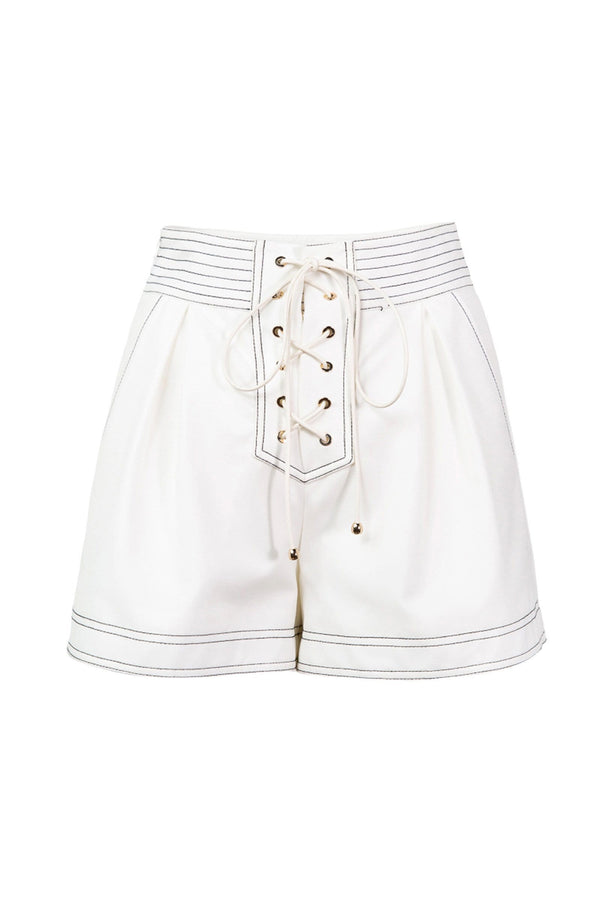 White Blanchette Shorts