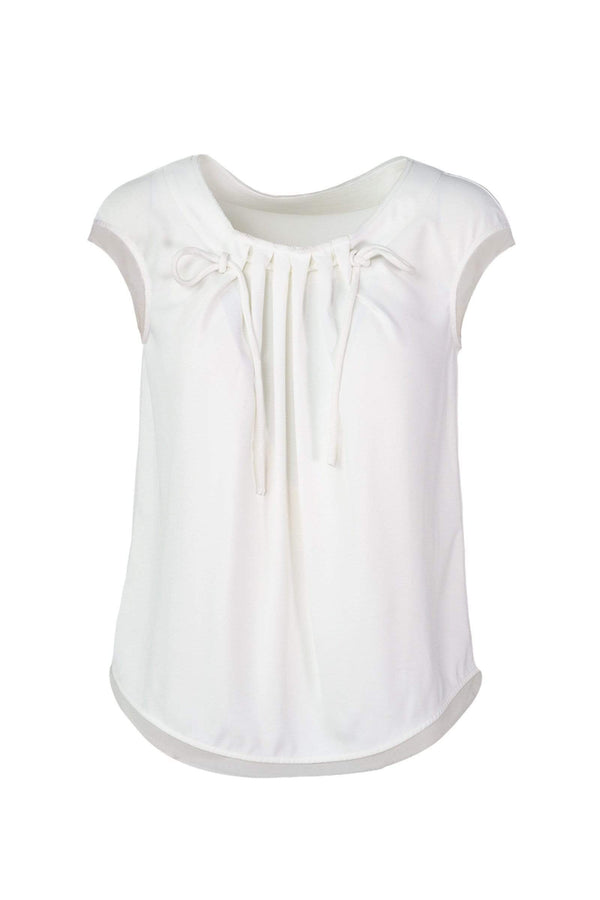White Dolly Top
