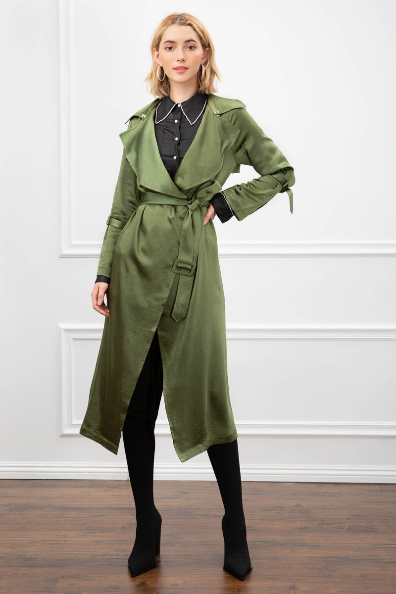 Zadie Duster in Coats & Jackets by J.ING - an L.A based women's fashion line