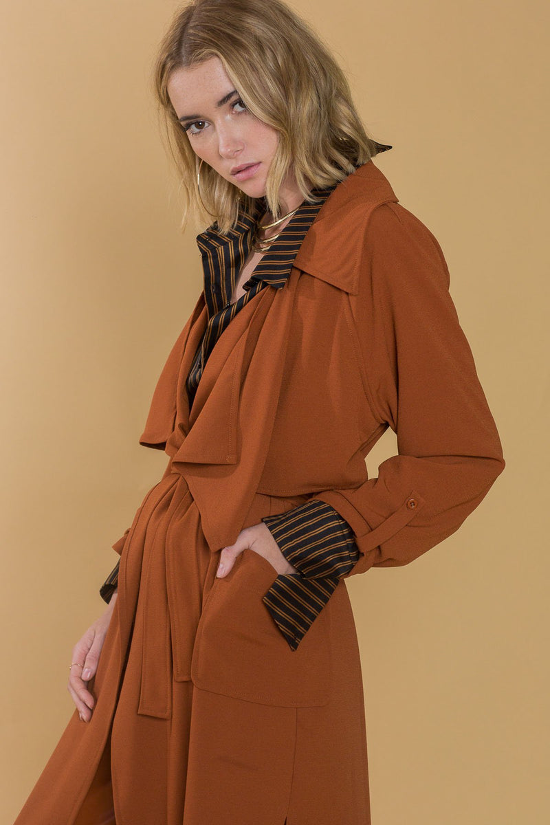 Vivienne Trench Coat in Coats & Jackets by J.ING - an L.A based women's fashion line