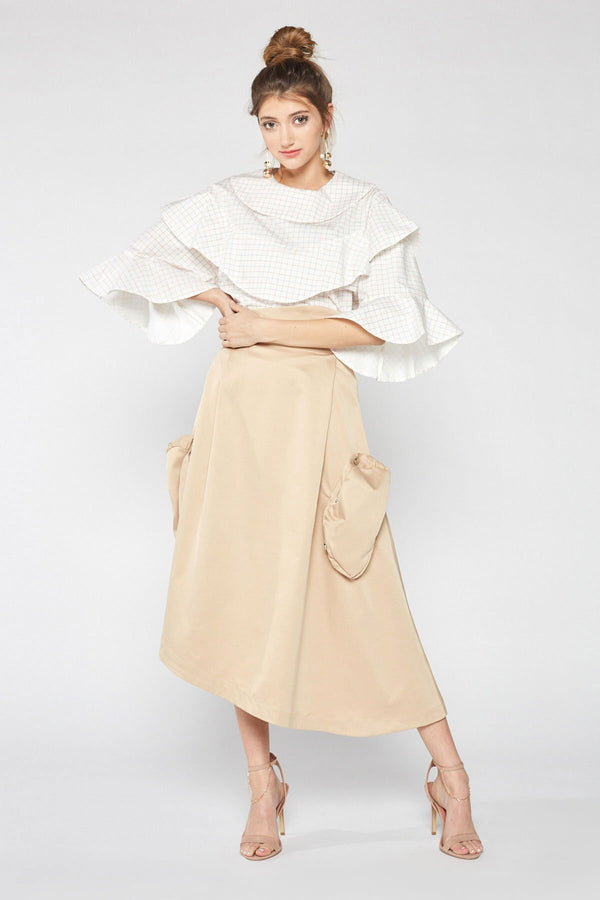 Linda Skirt in Skirts by J.ING - an L.A based women's fashion line