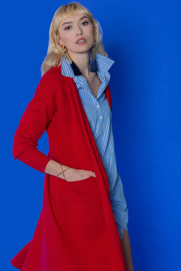 Elyse Cardigan in Knitwear by J.ING - an L.A based women's fashion line