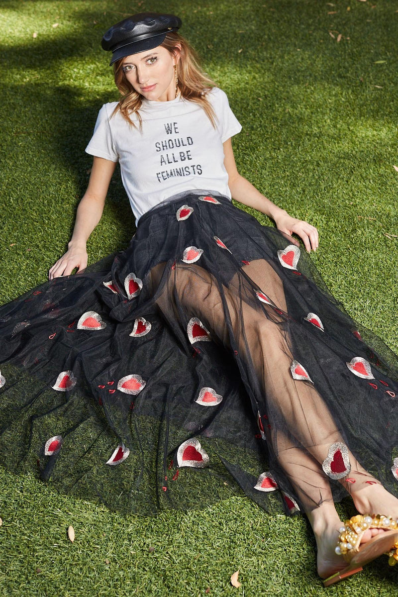 Darling Midi Skirt in Skirts by J.ING - an L.A based women's fashion line
