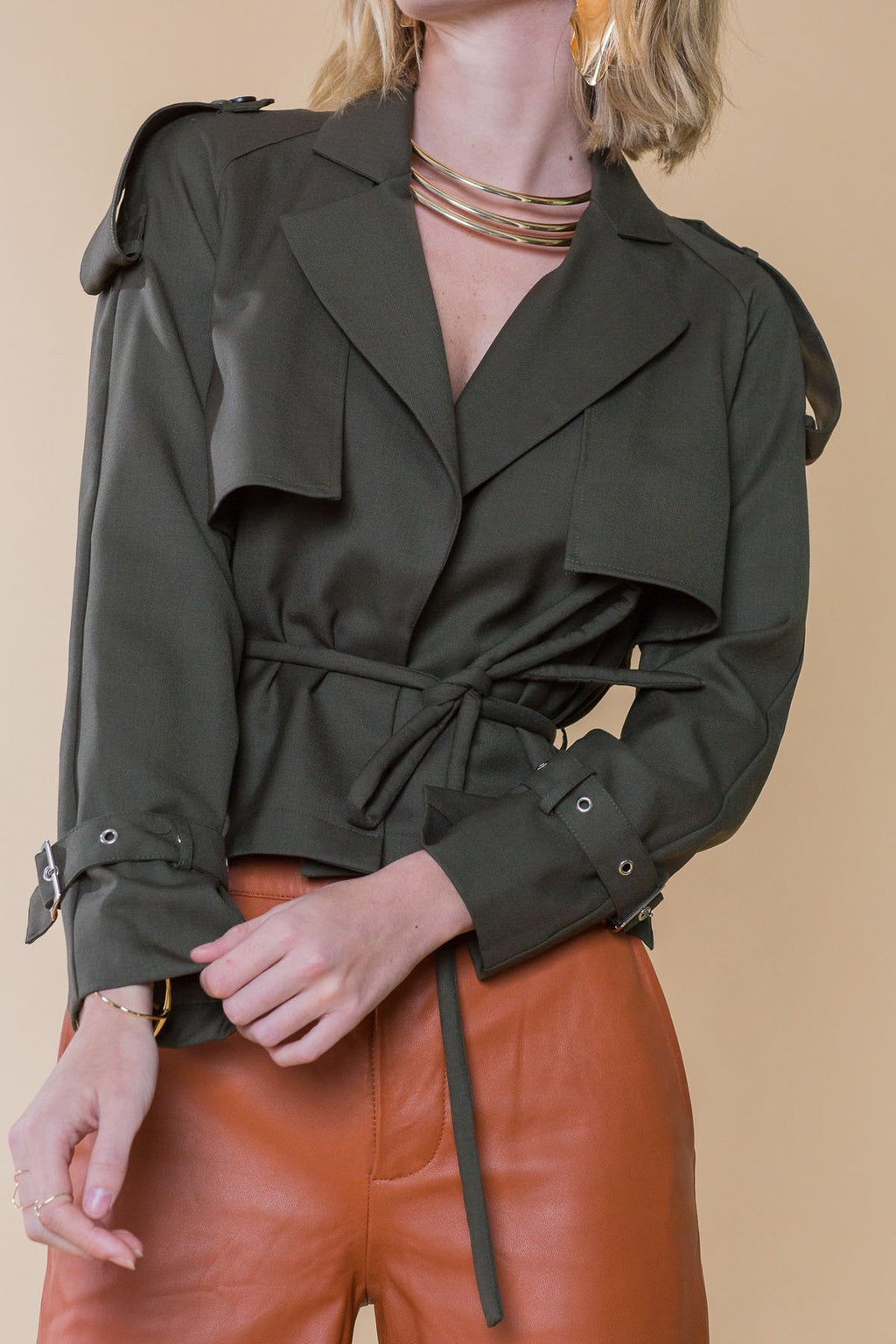 Alberta Jacket in Coats & Jackets by J.ING - an L.A based women's fashion line