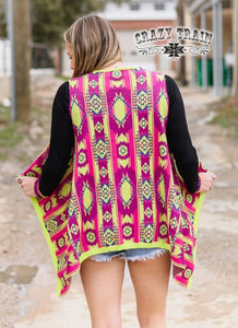 Crazy Train Kooky Kate Vest