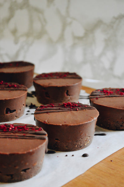 Choc Raspberry Cups