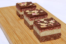 Load image into Gallery viewer, Cranberry Coconut Slice
