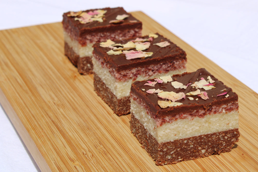 Cranberry Coconut Slice