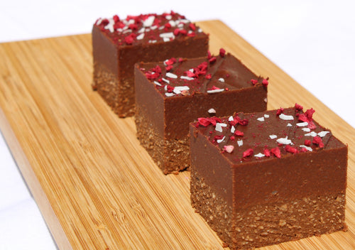 Double Choc Fudge Slice