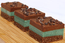 Load image into Gallery viewer, Mint Chocolate Slice