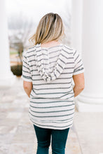 Load image into Gallery viewer, Multi Stripe V Neck Top