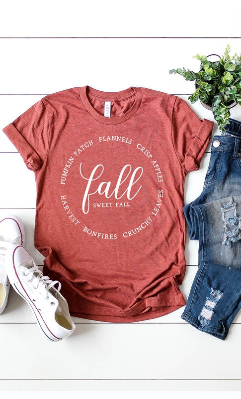 Fall Sweet Fall Tee | 2 Color Options